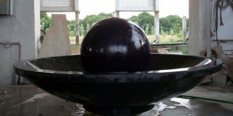 Black Ball Fountain