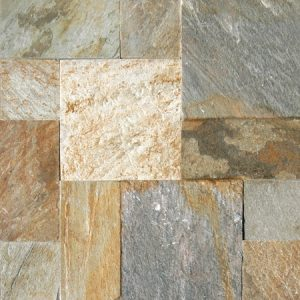 Slate Golden White Quartizite